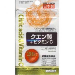 Citric+acid+&+Vitamin+C+(Фруктовые+кислоты+и+Витамин+С)+20+дней+кв